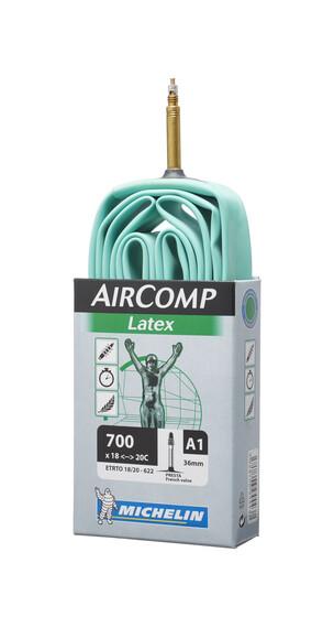 Michelin A1 Aircomp Latex Fahrradschlauch 18/20-622 SV 36 mm